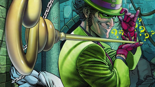 """The Riddler is in need of a new detective to toy with in a special one-shot """"Villains Month"""" issue of """"Batman."""""""