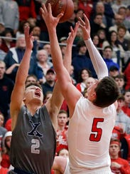 Xavier's Hunter Plamann (2). Ron Page/USA TODAY NETWORK-Wisconsin