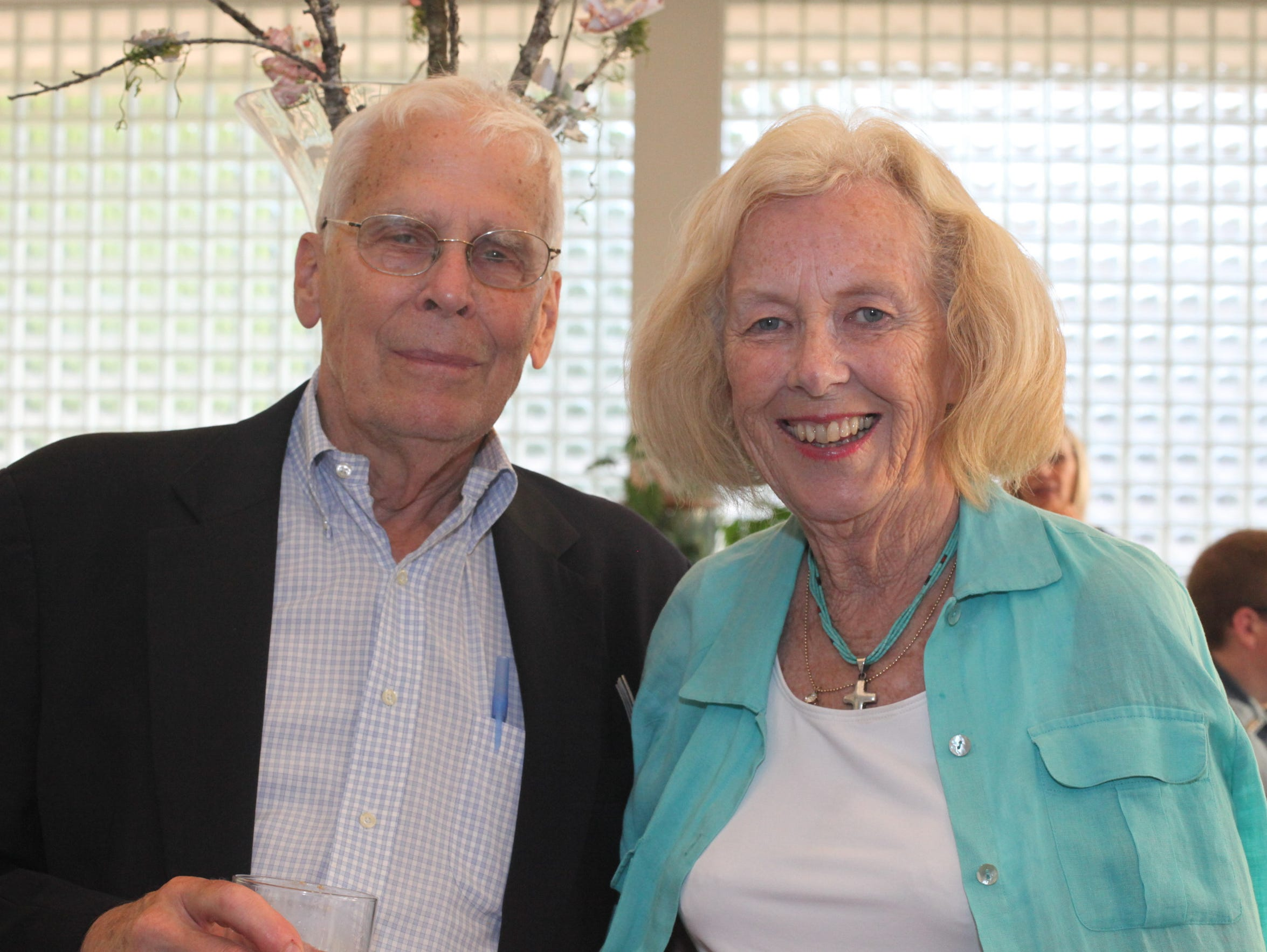 Dr John Bentley and Founder Roseann Bentley at An Evening
