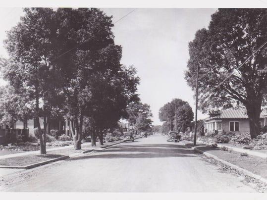 St John Street in Spring of 1935.jpg
