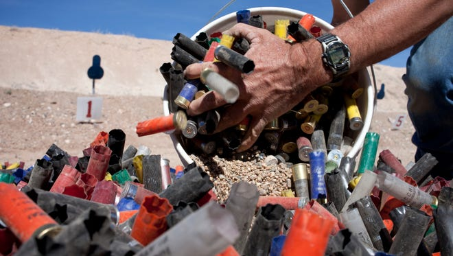 Trigger trash -- the remains of inappropriate targets such as water jugs, propane cylinders, glass bottles and aluminum cans -- and litter such as shot shell and cartridge cases are cluttering public lands.
