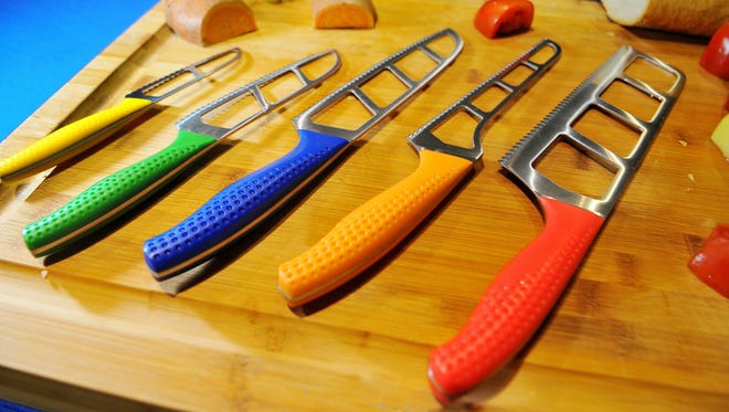 Phil McMahon of Melbourne is co-owner and designer of Easy Slice Knives.