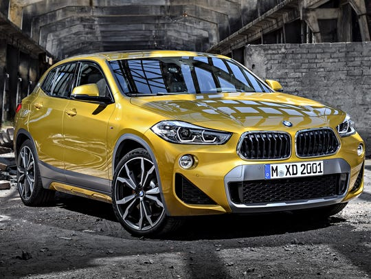 BMW's X2 is a new SUV that puts the premium on a stylish