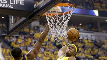Myles Turner gives his thoughts on Paul George wanting to leave Indiana Pacers