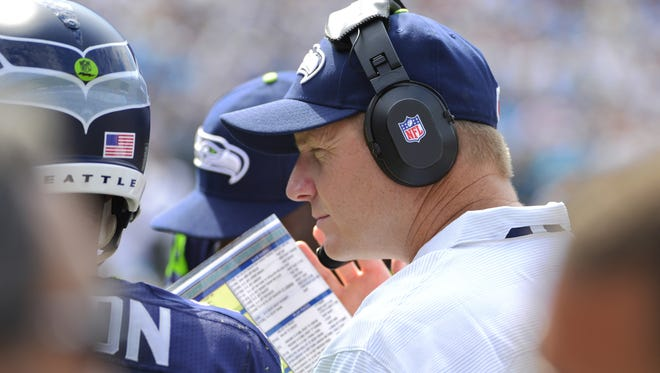Seattle Seahawks offensive coordinator Darrell Bevell is the key behind the evolving Seahawks' offense.