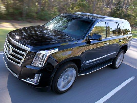 Cadillac buries Escalade SUV's celebrity past