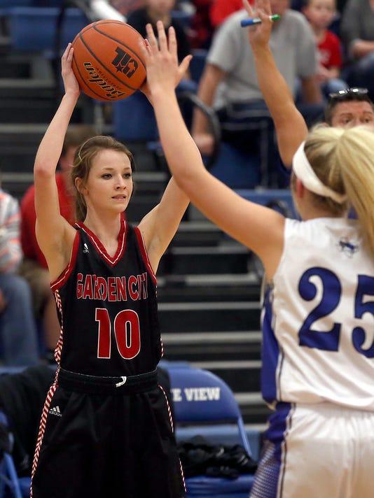 Girls' High School Basketball: Garden City vs Richland Springs 2-21-17