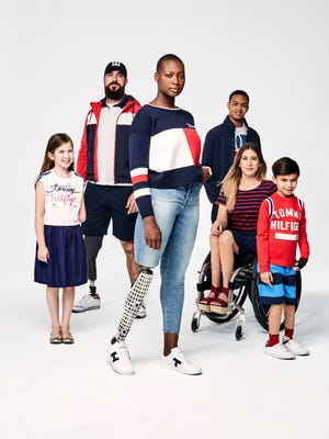 Tommy Hilfiger's Spring 2018 adaptive collection.