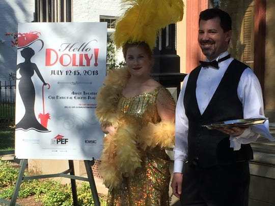 """""""Hello, Dolly!"""" is the 30th Annual PEF/EVSC summer"""