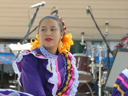 Folklorico dancers were part of the entertainment during the two-day Salsa Festival n Deming this past weekend.