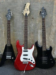 Freddy Lovvorn recently donated guitars to MAMA for