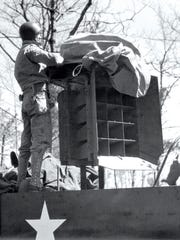 Uncovering the speakers on a sonic half-track