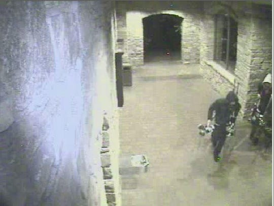 Surveillance photo from a May 23 incident at Montreux Golf and Country Club.