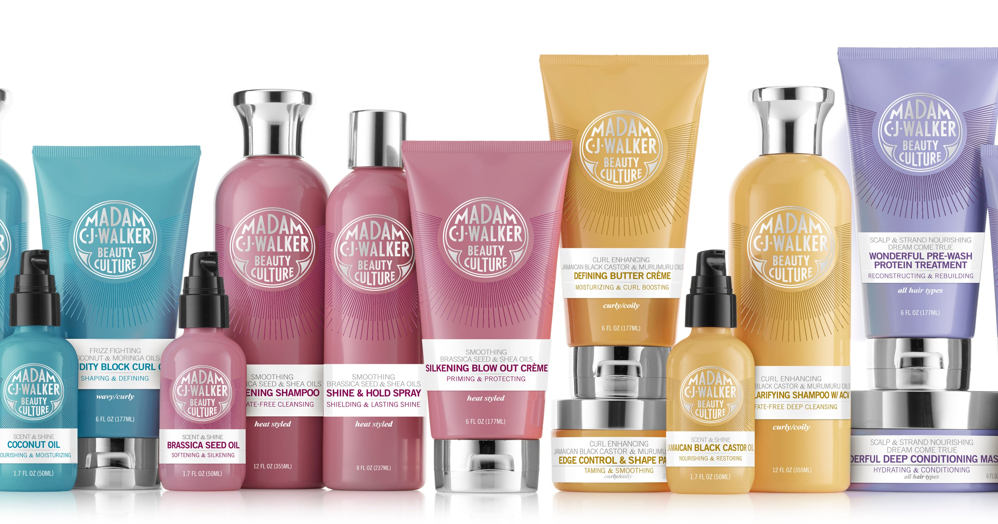 A legacy reborn, Madam C J  Walker hair products are back