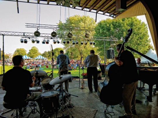 The Riverfront Jazz Festival, billed as Central Wisconsin's