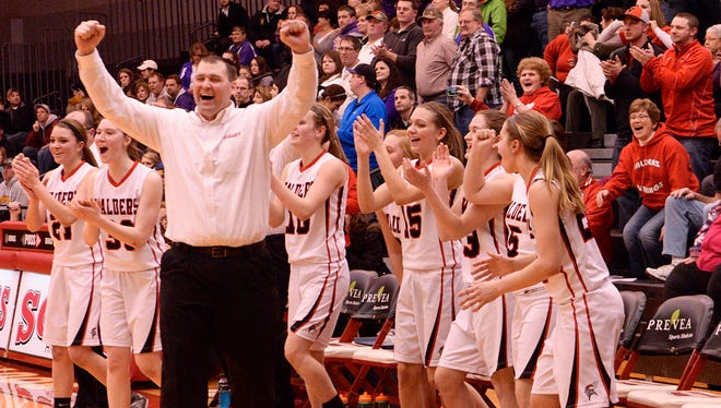 Dan Wagner had the opportunity of a lifetime when he took over as Valders girls basketball coach. He was able to coach his two daughters.