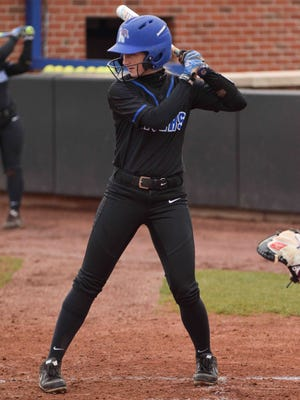 University of Memphis senior Lindsay Crowdus is one of the NCAA's top hitters this spring.