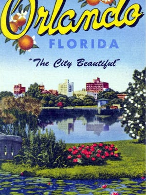 This postcard from the mid-twentieth century shows the area of downtown Orlando where the 2016 Florida Historical Society Annual Meeting and Symposium will be held May 19-21.