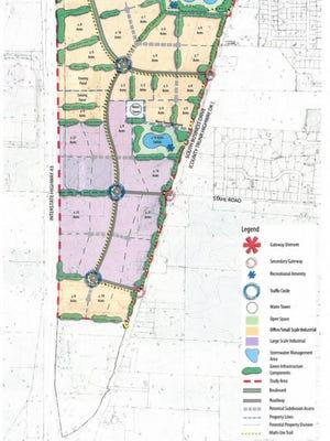 Sheboygan Business Center proposed concept plan