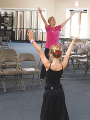 Robin Stuyverson passes along her knowledge of and passion for dance to campers.