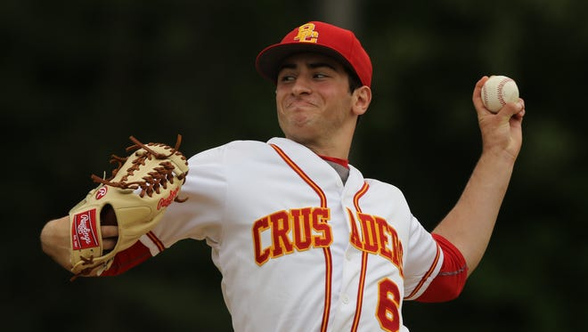 Chris Gerard of Bergen Catholic picked up his third county tournament win on Saturday, May 27, 2017.