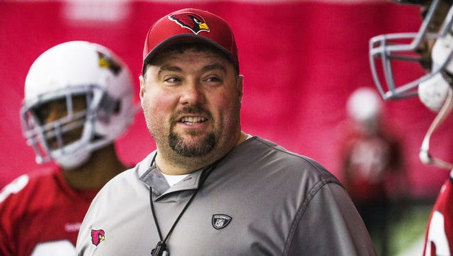 Arizona Cardinals defensive coordinator James Bettcher will interview for the team's head coaching position.