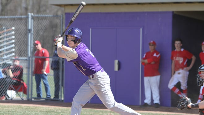 Christian Montrose was 4-for-7 for Fowlerville in a baseball doubleheader split with Portland.