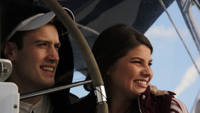 """Bobby Smith and Tori (Bates) Smith on their honeymoon on an episode of """"Bringing Up Bates."""""""