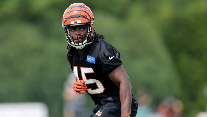 Cincinnati Bengals linebacker Malik Jefferson will be a player to watch in Thursday's first preseason game against Chicago.