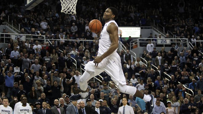 Nevada's Cameron Oliver has been working out for NBA teams in advance of the draft.