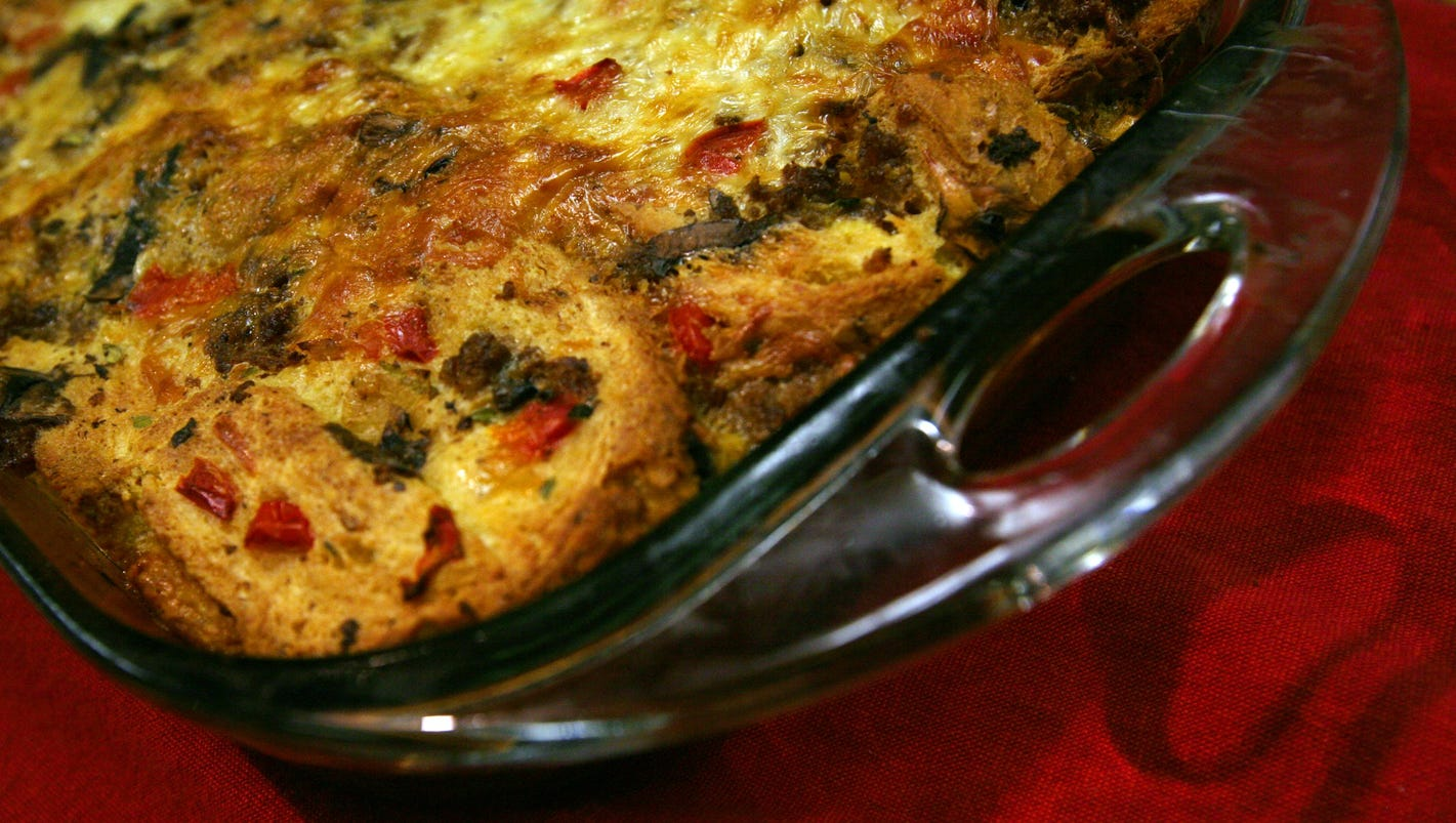 In Good Taste: Make-ahead breakfast casserole are perfect for entertaining