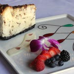 Heath toffee cheesecake served at Volare Italian Ristorante. Oct. 7, 2015