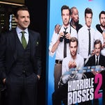 """Jason Sudeikis arrives at the Los Angeles premiere of """"Horrible Bosses 2"""" on Nov. 20"""