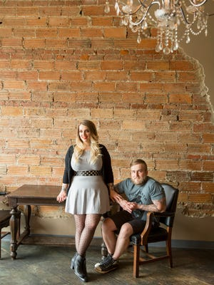 Jessica Imbronone and chef Nikita Sanches are the owners of Rock City Eatery in Hamtramck.
