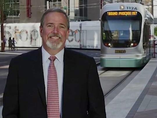 Former Valley Metro CEO Stephen Banta.