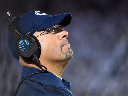 Penn State coach James Franklin knows Iowa will try
