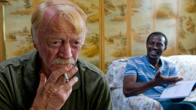 """Red West was a mysterious old man while Souleymane Sy Savane was a Senegalese taxi driver in """"Goodbye Solo"""" (2008)."""
