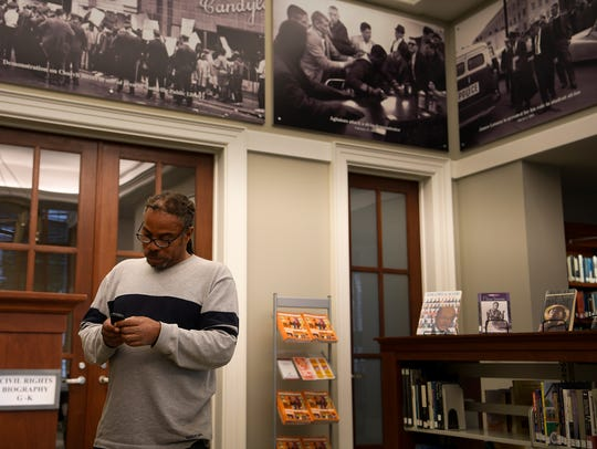 CIVIL RIGHTS TOUR: Howard Allen finds inspiration to