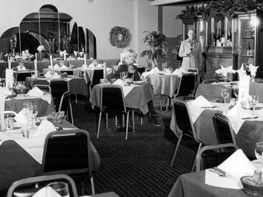 Dec. 26, 1979: A new wing of the Rio Bamba on Alexander Street with owners Jacki and Peter Van Cola.