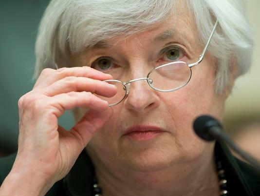 Janet Yellen, head of the U.S. Fed