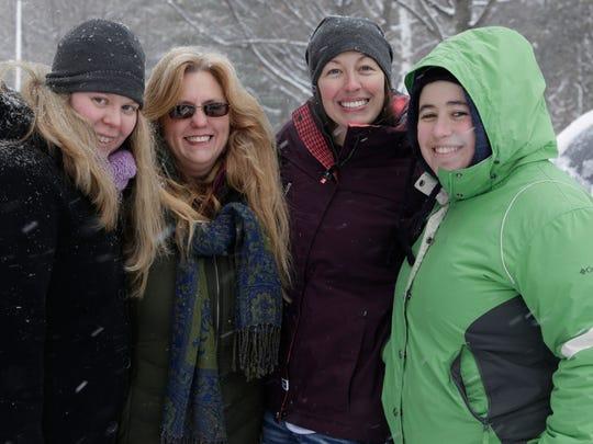 A group of Marquette nurses took care of Sanaz Nezami