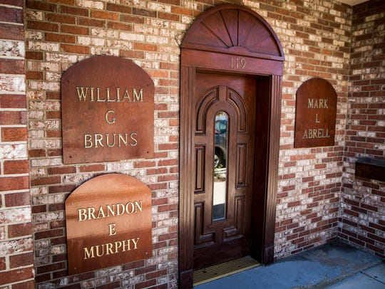 Bill Bruns' office for more than 40 years in downtown