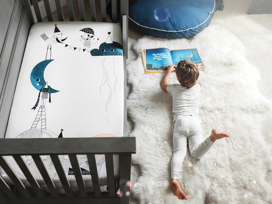 Maplewood mom Gabriela Anggono designs Rookie Humans fitted crib sheets