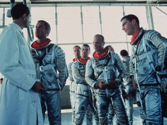 """Scene from """"The Right Stuff."""""""