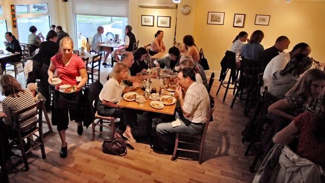 Breakfast at Penny Cluse Café in Burlington.
