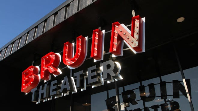 The Bruin Theater at 2500 Neuse Boulevard in New Bern.