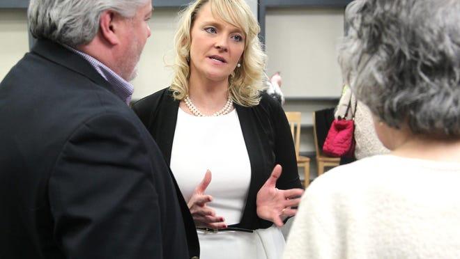 Superintendent Jennifer Curtis-Whipple pictured in 2016. Ledger file photo