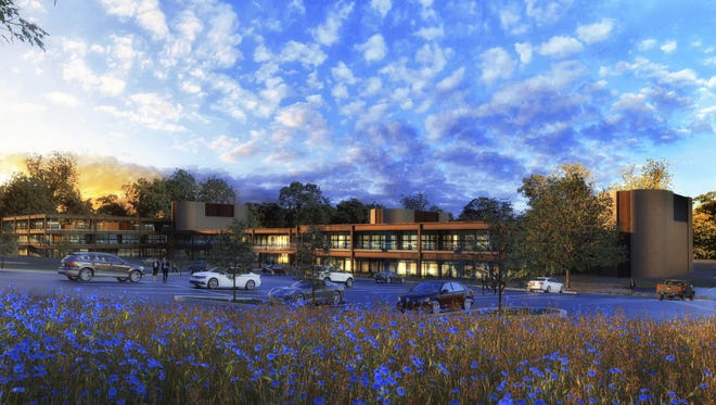Provided rendering of Riverwood Tech Campus on East River Road, Henrietta.