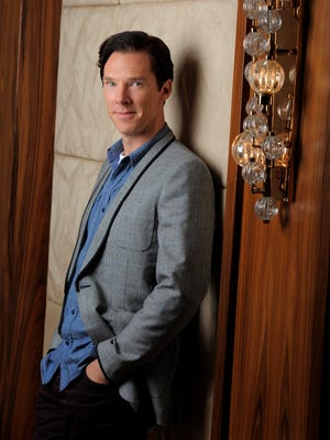 Actor Benedict Cumberbatch poses at the 2013 Toronto International Film Festival on Sept. 8, 2013. Cumberbatch stars as WikiLeaks founder Julian Assange in 'The Fifth Estate,' in theaters Friday.