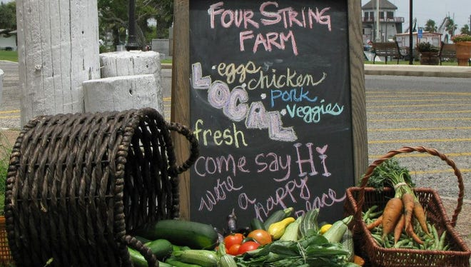 Four String Farm's farm share will be available in Corpus Christi starting Dec. 14.